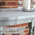 Make Your Own Chalk Paint Diy Refinished End