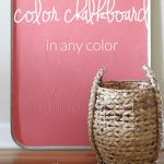 Making Custom Colored Chalkboard Paint Crazy Craft