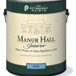 Manor Hall Interior Latex Paint Satin Exclusive