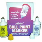 Markal Bpm Ball Paint Markers Metal Steel All Colours Inc