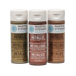 Martha Stewart Metallic Acrylic Craft Paint Ounces