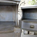 Martha Stewart Metallic Paint Furniture Rocks