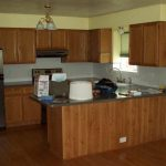 Marvelous Brown Wooden Kitchen Cabinets Island Also Floors