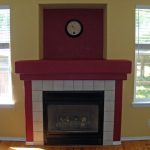 Marvelous Fire Place Paint Color Around Fireplace
