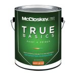 Mccloskey True Basics Exterior Semi Gloss Clear Base Paint