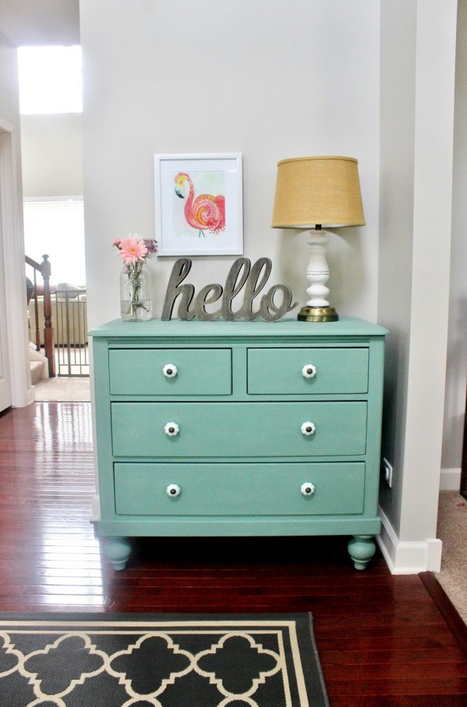 Meet Pearl Chalk Paint Dresser Makeover Delightfully