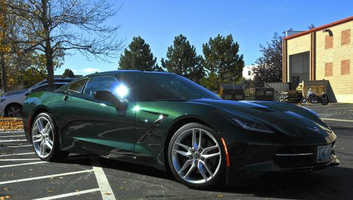 Metallic Green Car Paint Colors Color