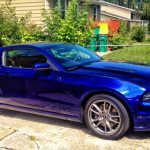 Metallic Navy Blue Car Paint Deep Impact Looks Billion