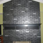 Metallic Painted Brick Summer Going Paint Fireplace