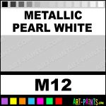 Metallic Pearl White Liners Fabric Textile S