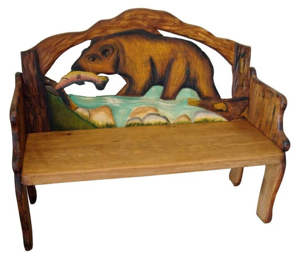 Mexican Painted Furniture Rustic Home Decor