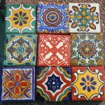 Mexican Talavera Pottery Tile Hand Painted Made Venice Italy