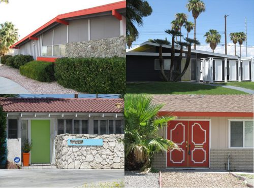 Mid Century Modern Exterior Paint Color Schemes
