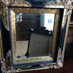 Mirror Spray Paint Wood Antique Gold Faux Finish