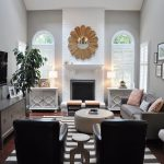 Mirrors Living Rooms Benjamin Moore Gray Room Light