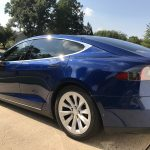 Model Deep Blue Metallic Paint Only Used