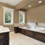 Modern Interior Bathrooms Paint