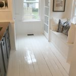 Modern Jane White Painted Floor Part Finished