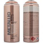 Montana Gold Copper Metallic Effect Spray Paint Supplies Fat