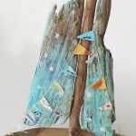 Morning Star Painted Driftwood