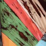 Multi Color Distressed Furniture