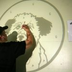 Mural Painting Brother Wolf Animal Rescue Lark