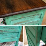 Mutable Paint Wood Dresser Over Stained Woodfurniture Without