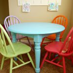 New Craft Table Chairs Playroom Scattered Thoughts Crafty Mom Jamie