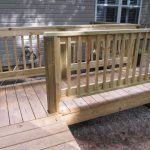 New Deck Railings Should Paint Stain Just Seal Help