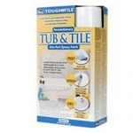 New Homax Tough Tile Tub Epoxy Paint Spray Finish Kit White