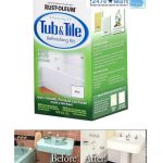 New Rust Oleum Tub Tile Refinishing Part Kit White Epoxy Acrylic