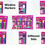 New Window Markers Car Home Glass Windows Temporary Paint Washable Fast Dry