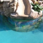 Nice Pool Slide Paint Swimming