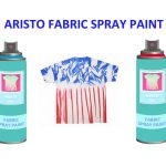 Non Toxic Resistance Fabric Spray Paint Clothes Waterproof