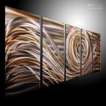 Oil Painting Art Metal Wall Home Decor Modern Abstract