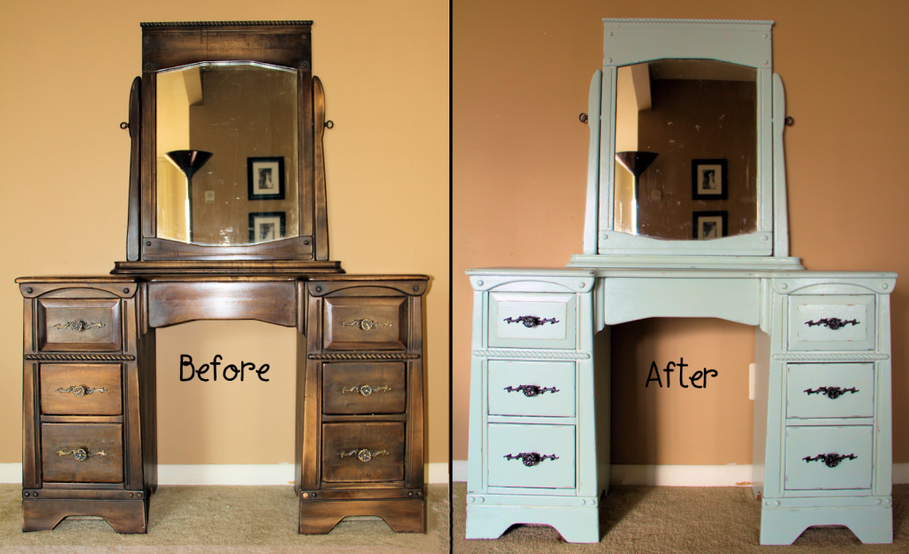 Old Furniture Painting Build