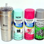 Ombre Spray Painted Glitter Cold Cup Rachel