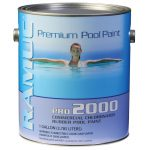 Only Pro Chlorinated Rubber Pool Coating Dawn Blue Gallon