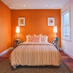 Orange Paint Colors Bedroom Home