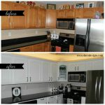 Our Diy Kitchen Remodel Painting Your Cabinets White Ellery