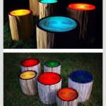 Outdoor Awesomeness Paint Logs Glow Dark