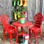 Outdoor Bistro Set Spray Paint Makeover