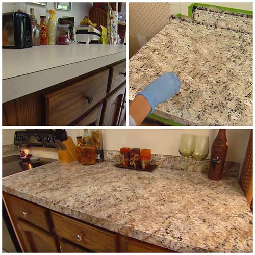 Paint Any Countertops Look Like Granite