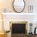 Paint Brass Fireplace Surround Washington