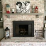 Paint Brick Fireplace Infarrantly