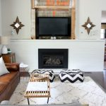 Paint Brick Fireplace White Design