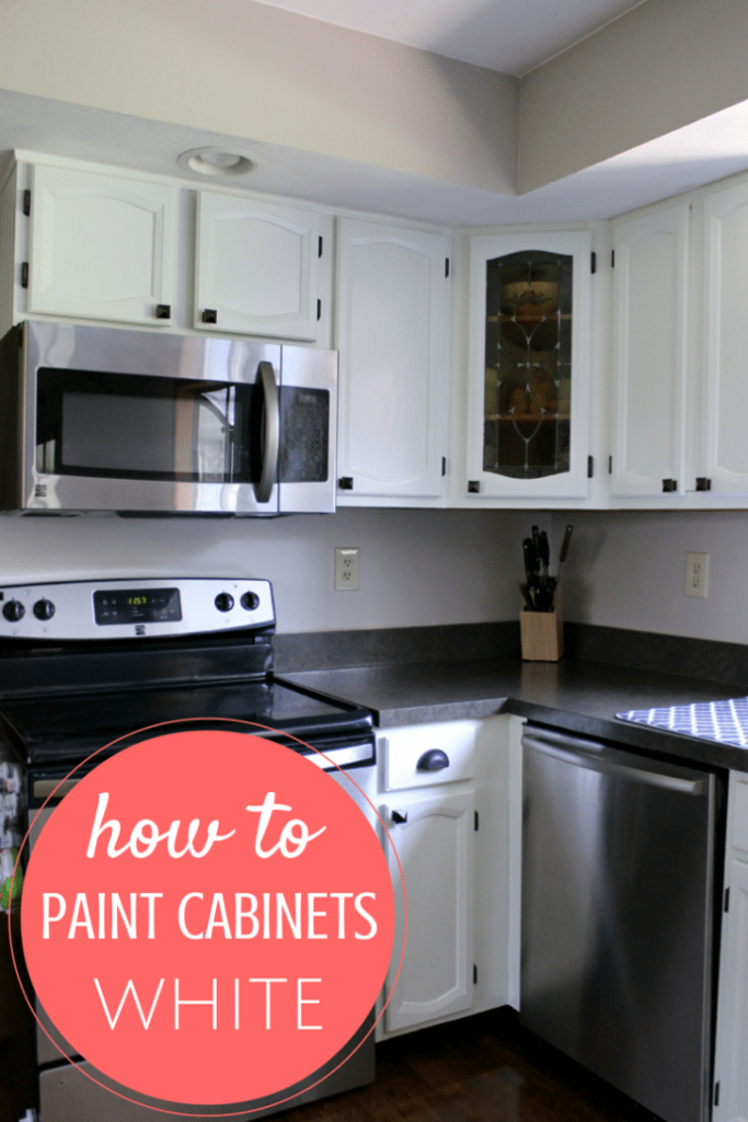 Paint Cabinets Someone Just Did Cleverly