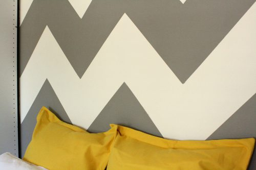 Paint Chevron Wall Bada