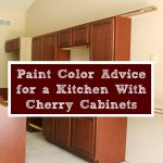 Paint Color Advice Kitchen Cherry Cabinets