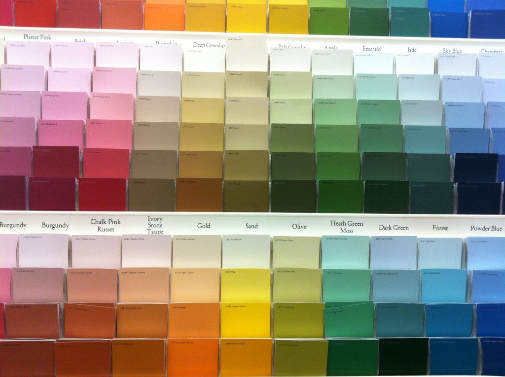 Paint Color Swatches